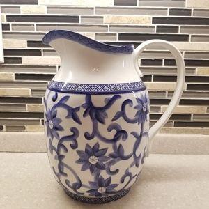 RALPH LAUREN Mandarin Blue pitcher